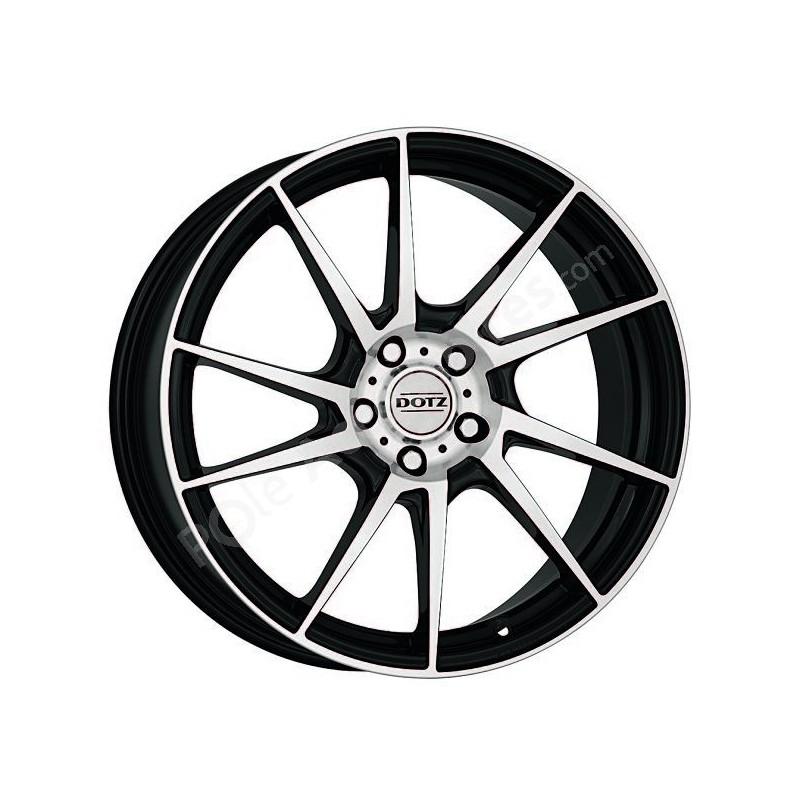 Jante Alu 16 Pouces Dotz Kendo 4x108 Citroen Ds4 C4 Peugeot 206 207 208 308 Pole Accessoires Com