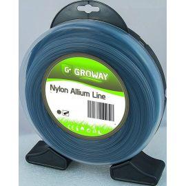 Fil débroussailleuse rond aluminium 4 mm ALLIUM blister 32 mètres