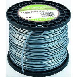 Fil pour debroussailleuse carré aluminium 3 mm ALLIUM bobine 153 mètres