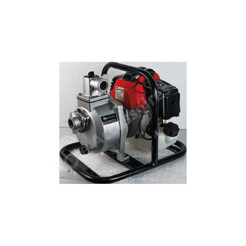 pompe eau thermique moteur 2 temps 41 cm3 puissance 1 7 cv d bit 7000 litres heure pole. Black Bedroom Furniture Sets. Home Design Ideas