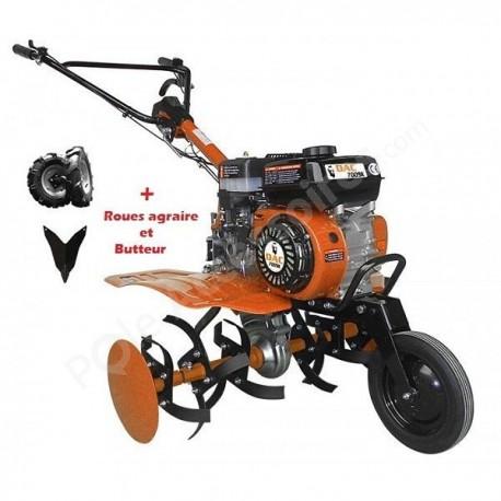 Motobineuse transformable DAC 7009 K moteur 4 temps 7 CV à démarrage manuel
