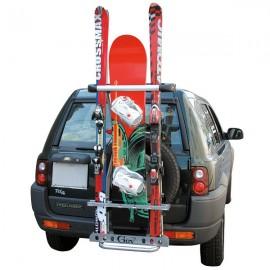 Porte ski arrière sur roue de secours 4x4 et SUV