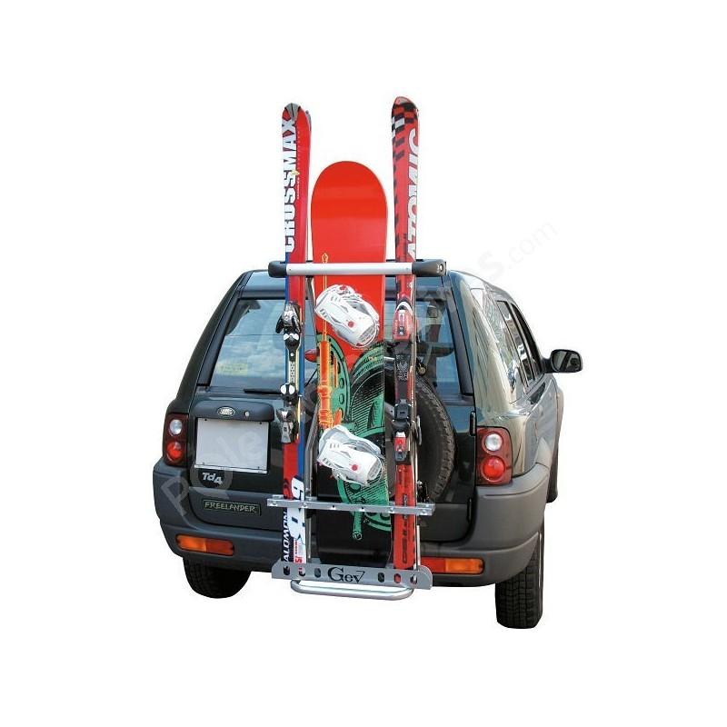 Porte Ski Arrière X Roue De Secours Porte Ski X SUV - Porte ski