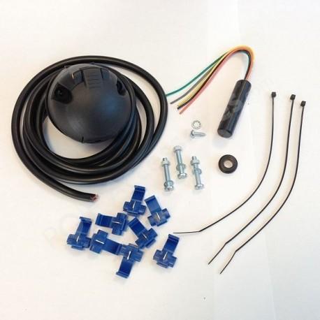 Faisceau électrique Standard 7 broches pour branchement prise de remorque DACIA SANDERO 1 [06/2008 -- 12/2012]