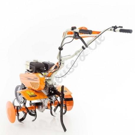 Motobineuse thermique 215 cm3 transformable DAC 7088 3 vitesses 6 fraises roues agraires
