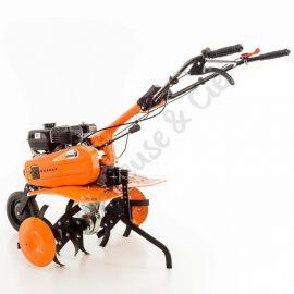 Motobineuse 6,5 Cv 6 fraises vitesses 2 AV - 1 AR roues agraires 400x8 Ruris DAC 6500K