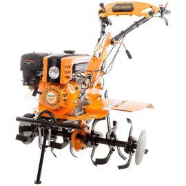 Motoculteur 8,5 Cv 6 fraises vitesses 2AV - 1AR charrue - butteur - roues agraires Ruris 751 KS