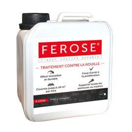 Ferose - Convertisseur de rouille - Traitement contre la rouille - 2 litres