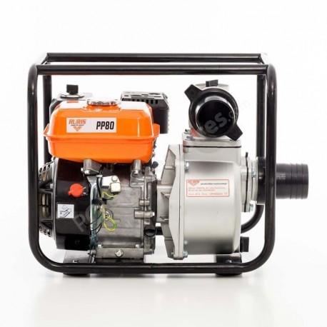 pompe eau thermique moteur 4 temps 6 5 cv d bit 66000 l. Black Bedroom Furniture Sets. Home Design Ideas