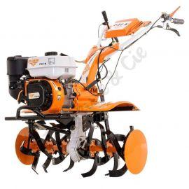 Motoculteur 7,5 Cv 6 fraises vitesses 2AV - 1AR roues agraires 400x8 - butteur Ruris 734k