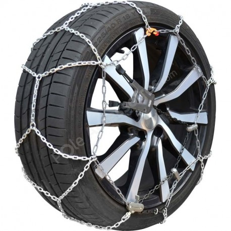 Chaines Neige Retension Automatique Xk9 N°90 (La Paire) 175/75R16 - 175/80R16 - 185/75R15 - 185/75R16 - 185/80R15 - 195/55R17 -