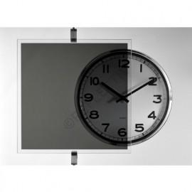 Film transparent de couleur Noir - 75 cm x 200 cm