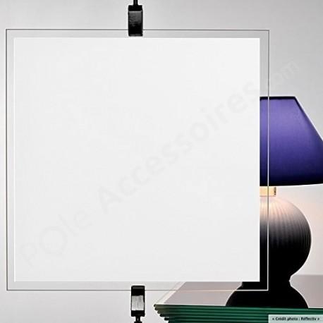 Film occultant BLANC pour vitrage et fenetre - 100cm x 150cm