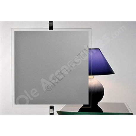 Film occultant GRIS pour vitrage et fenetre - 100cm x 150cm