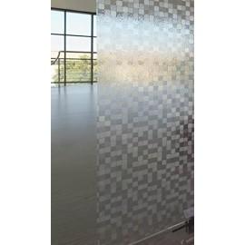 Film electrostatique decoratif pour vitrage Formes géométriques - rouleau 92cm x 200 cm