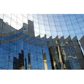 Film miroir sans tain pour vitrage et fenetre - 100cm x 150cm