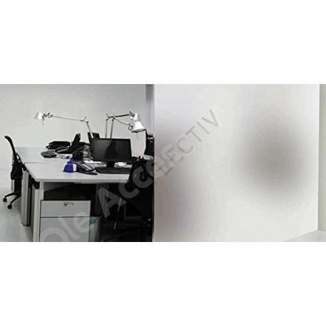 Film pour vitre et fenetre dépoli blanc - longueur 2 m x largeur 1.52 m