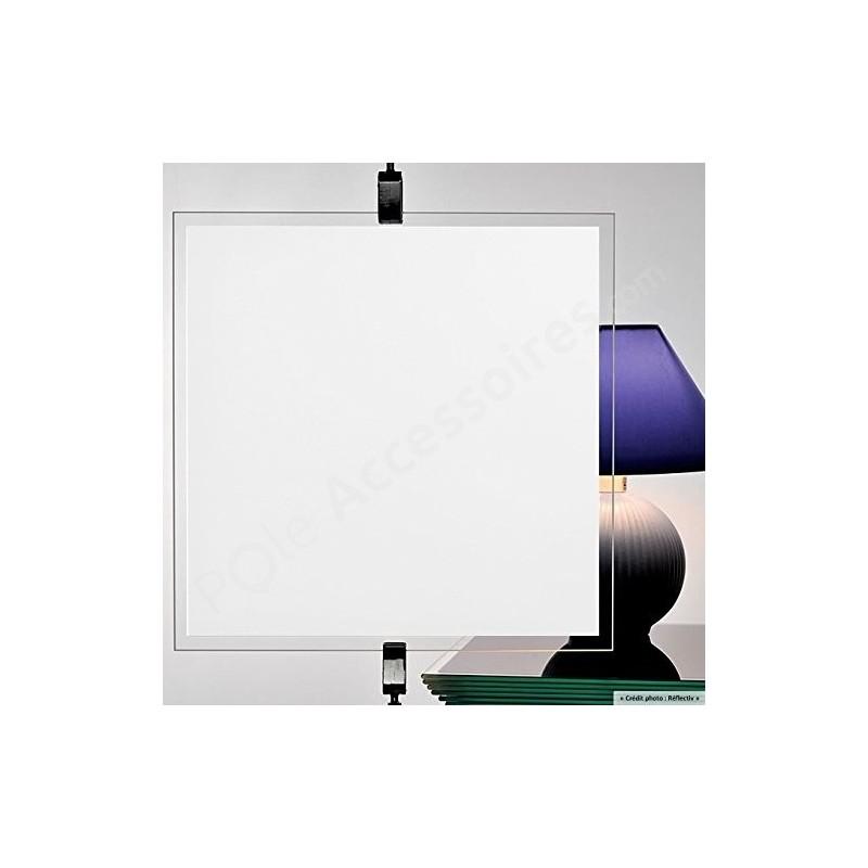 Film Adhesif Decoratif Fenetre Pvc Opaque Et Occultant Blanc