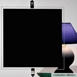 Film occultant NOIR pour vitrage et fenetre - 200cm x 150cm