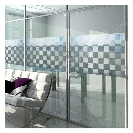 Film electrostatique decoratif pour vitrage - rouleau 46cm x 300 cm