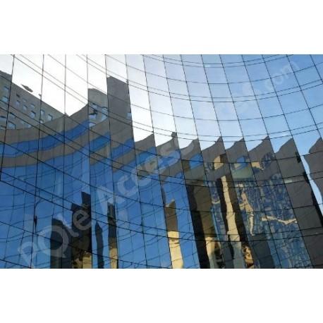 Film miroir sans tain pour vitrage et fenetre - 150cm x 200cm