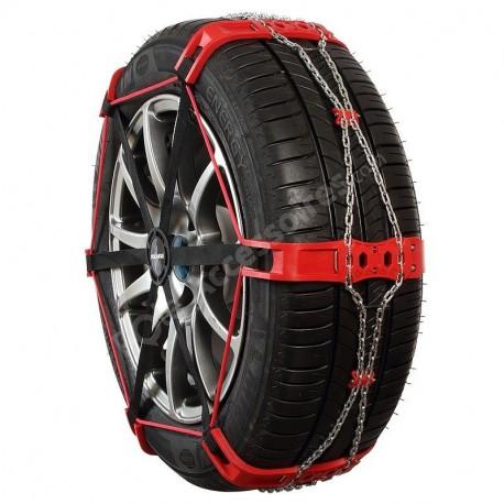 Chaussette à neige métallique pour chaînage particulier pneu 195/65R16 205/55R17 Sock 82