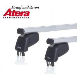 Barres de toit aluminium fixation points fixes d'origine ATERA 45118