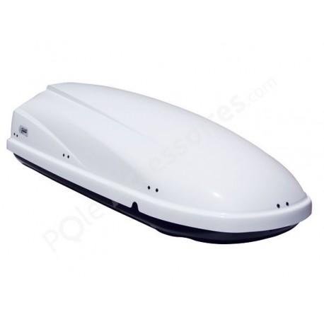 Coffre de toit 460 Litres Travel Blanc