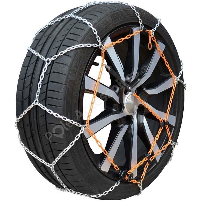 Chaine /à neige Eco 9mm pneu 175//65R14 montage rapide Boite comprenant 2 chaines neige