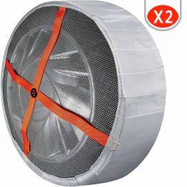 Chaussettes pneu 185/65R15 195/65R15 205/55R16 Autosock 62