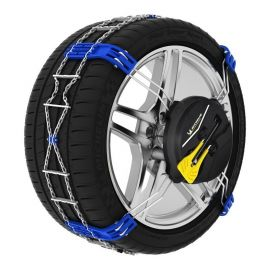 Chaines neige Michelin montage automatique Fast grip pneu 225/55R18 245/40R20 245/45R19