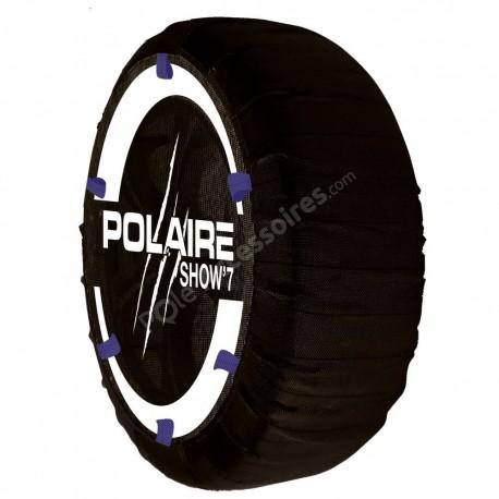 Chaussette neige textile POLAIRE Show 7 4x4 Camping Car - S87