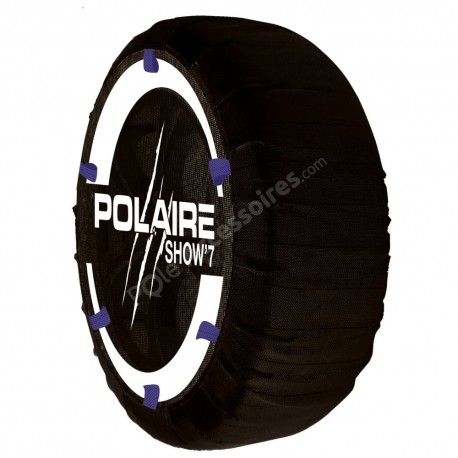 Chaussette neige textile POLAIRE Show 7 4x4 Camping Car - S84