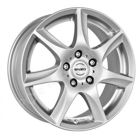Jante alu 16 pouces ENZO W Adam Astra Corsa  CapturScenic Twingo Corolla 4x100 ET 35