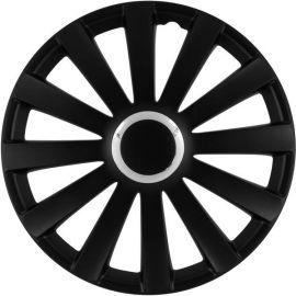 Enjoliveur 15 pouces noir SPYDER - pack 4 enjoliveurs