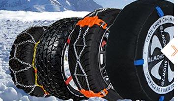 Toutes les solutions d'adhérence sur neige pour votre véhicule